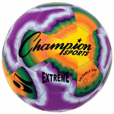 Champion Sports Extreme Tye Dye 3 or 5 Soccer Ball