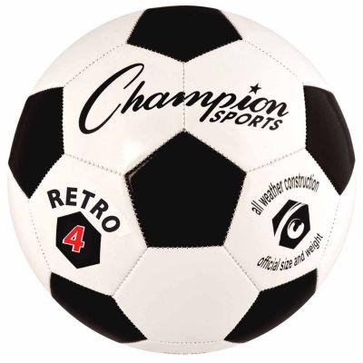 Champion Sports Retro 4 Soccer Ball