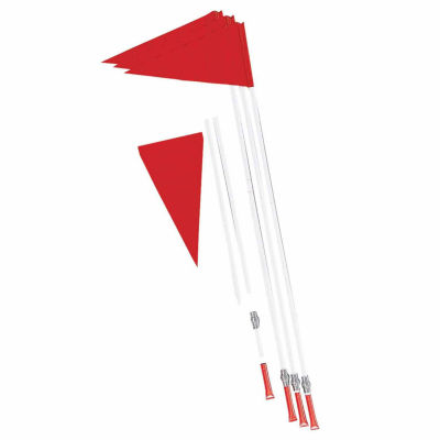 Champion Sports Spring Loaded 4-pc. Soccer Corner Flags