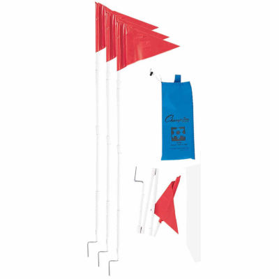 Champion Sports Collapsible 4-pc. Soccer Corner Flags