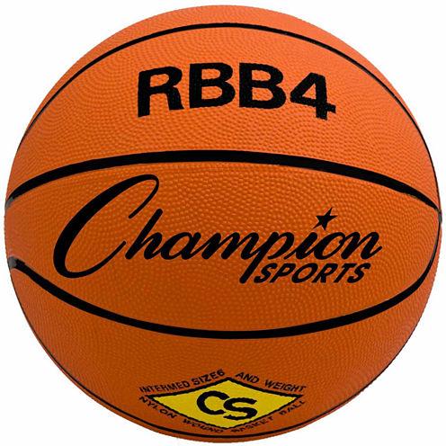 Champion Sports Intermediate Rubber Basketball