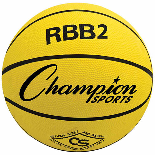 Champion Sports Junior Rubber Basketball