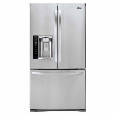 LG ENERGY STAR® 26.8 cu. ft. Ultra Large Capacity 3-Door French Door Refrigerator with Smart Cooling