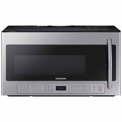 Samsung 2.1 cu. ft. Over-the-Range Microwave with Ceramic Enamel Interior