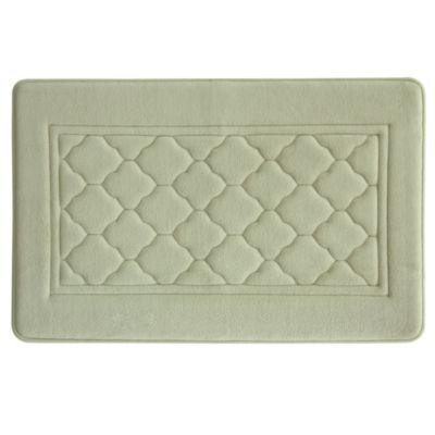 Microban® Florence Memory Foam Bath Rug
