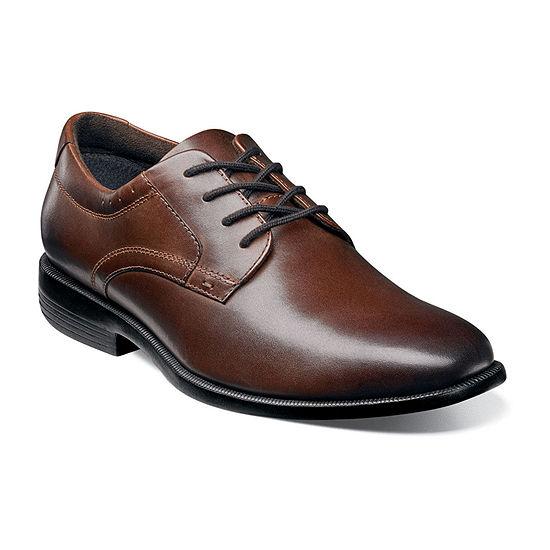 Nunn Bush Devine Mens Plain Toe Dress Oxford Shoes