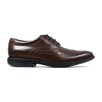 Nunn Bush Mens Decker Oxford Shoes Lace-up Wing Tip