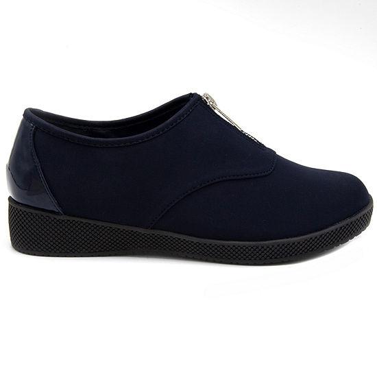 Towne By London Fog Womens Amie Slip-On Shoe Round Toe