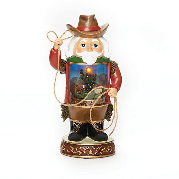 Roman 12 Inch Led Cowboy Musical Tabletop Decor