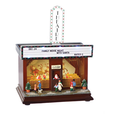 Roman 11 Inch Led Movie Theater Musical Tabletop Decor