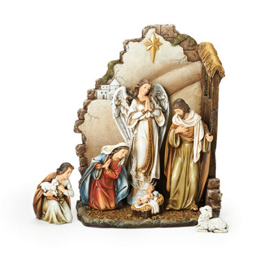 Joseph'S Studio 13 Inch 7-pc. Nativity Set