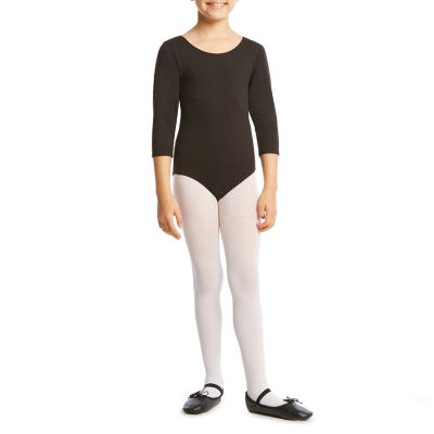 Jacques Moret 3/4 Sleeve Leotard - Girls