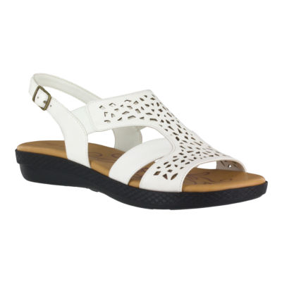 Easy Street Bolt Womens Strap Sandals Extra Wide