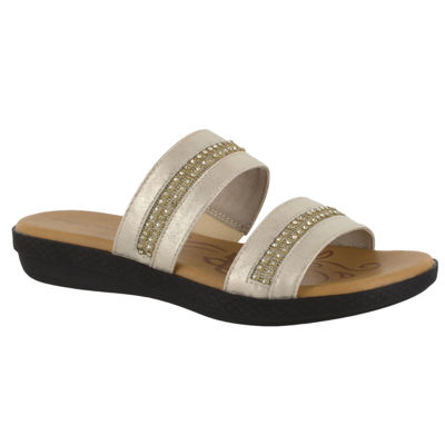 Easy Street Dionne Womens Slide Sandals