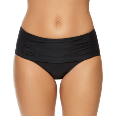 Aqua Couture High Waist Swimsuit Bottom