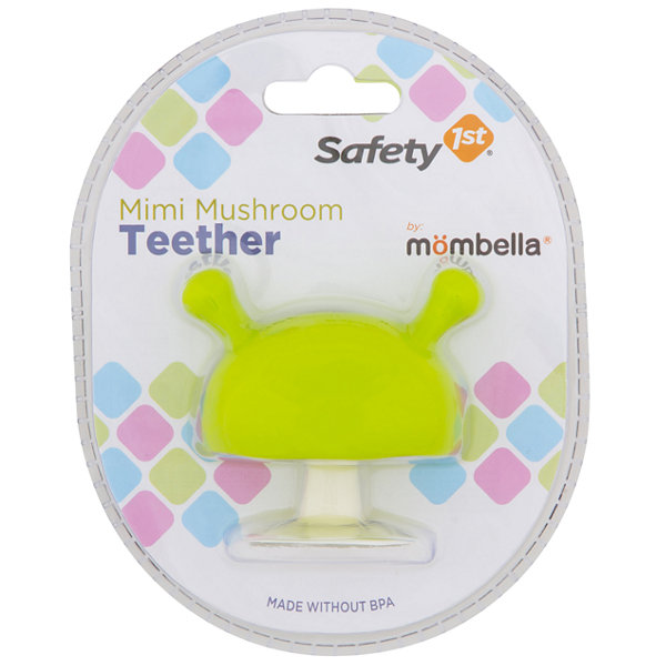 Safety 1st Featuring Mombella Mimi Mushroom Teether