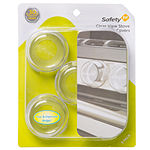 Safety 1st 5-Pack Clear View Stove Knob Covers Safety Latches