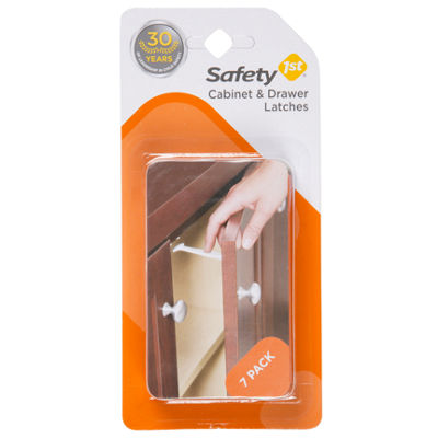 Safety 1st 7-Pack Cabinet & Drawer Safety Latches