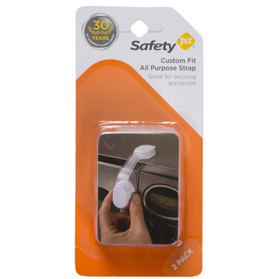 Safety 1st 2-Pack Custom Fit All Purpose Strap Safety Latches
