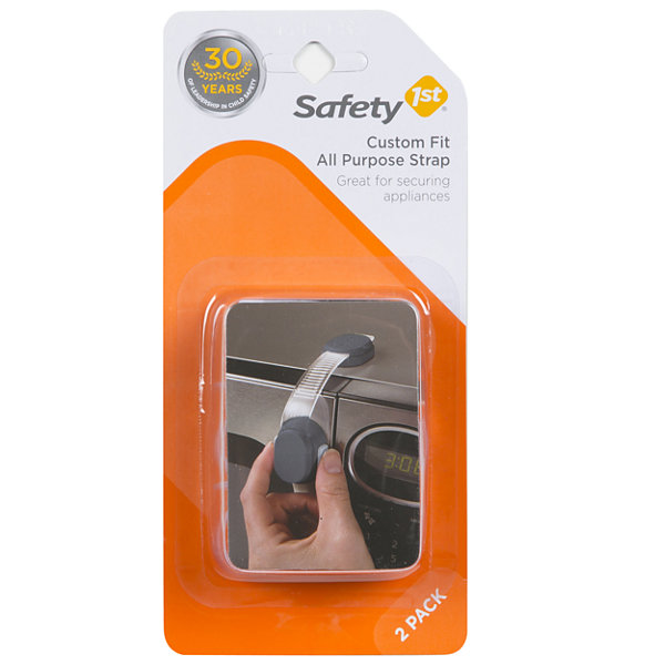 Safety 1st 2-Pack Custom Fit All Purpose Strap 2-pc. Safety Latches