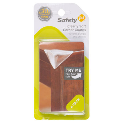 Safety 1st 4-Pack Clearly Soft 4-pc. Corner Guards