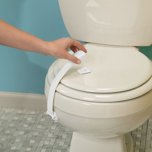 Safety 1st 2-Pack Easy Grip Toilet 2-pc. Safety Locks