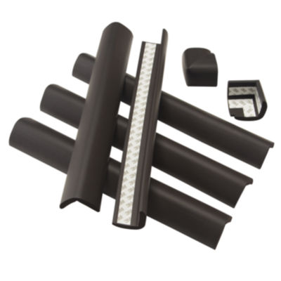 Safety 1st Foam Fireplace Hearth Bumper Edge Guards
