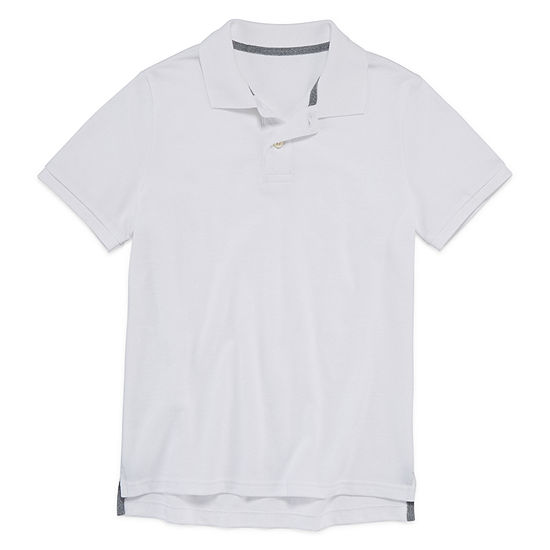 39bd3c76ab4 Arizona Short Sleeve Flex Polo Shirt Boys 4 20 JCPenney