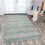 Rizzy Home Resonant Collection Raegan Geometric Rectangular Rugs