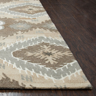 Rizzy Home Suffolk Collection Jenna Medallion Rectangular Rugs