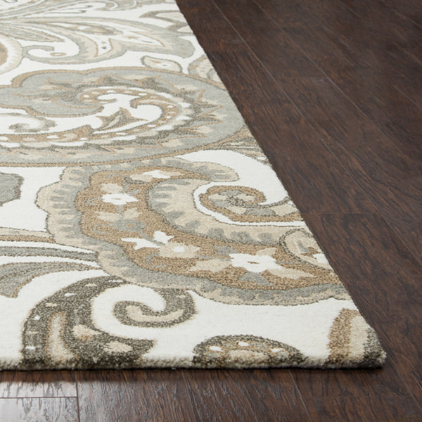 Rizzy Home Suffolk Collection Melanie Paisley Rectangular Rugs