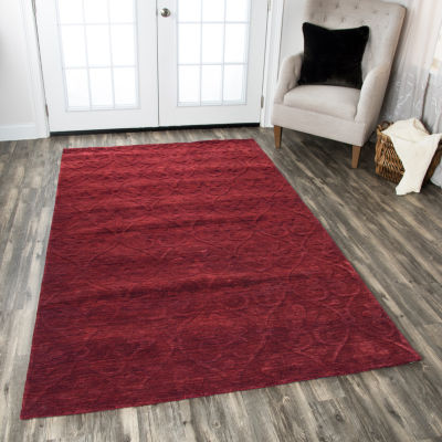 Rizzy Home Technique Collection Nina Solid Rugs