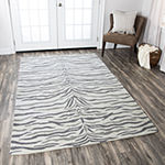 Rizzy Home Valintino Collection Kamila Animal Rectangular Rugs