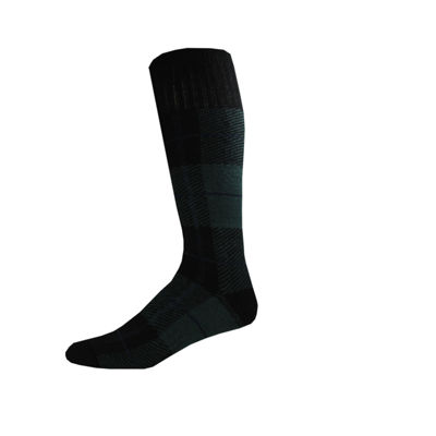 Dickies® Mens 2-Pk. Wool Blend Flannel Plaid Boot Crew Socks