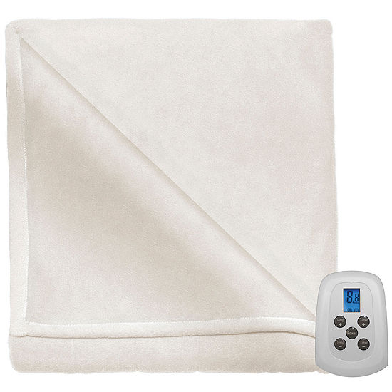 Serta Microfleece Heated Heavyweight Electric Blanket