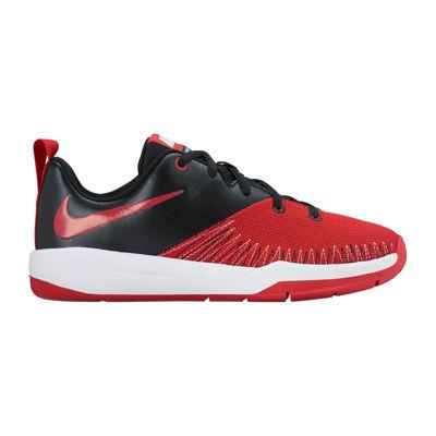 Nike Team Hustle D 7 Low Boys Basketball Shoes - Little Kids
