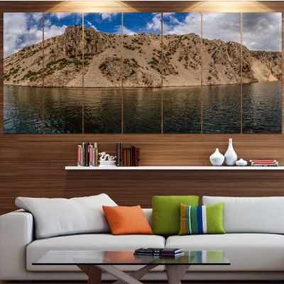 Designart Zrmanja River Northern Dalmatia Landscape Large Canvas Art Print - 5 Panels