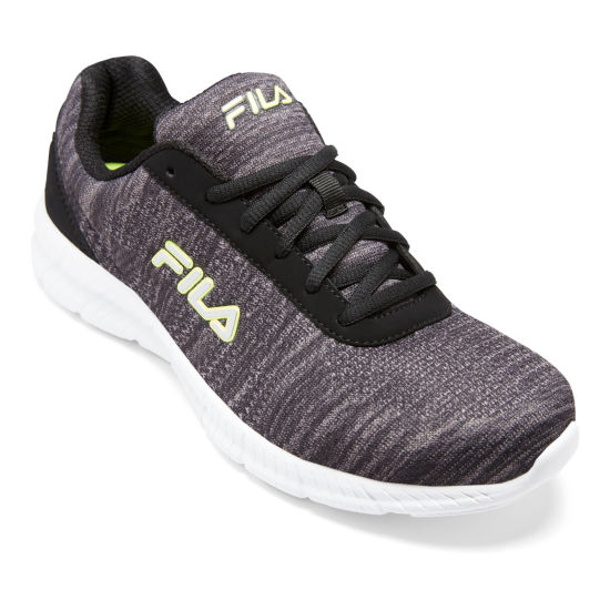 Fila Memory Track Knit Mens Running Shoes