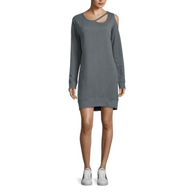 Xersion Studio Cutout Sweatshirt Dress