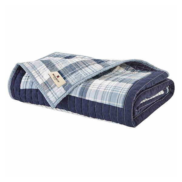 Woolrich Huntington Cotton Quilted Throw - JCPenney : woolrich quilted blanket - Adamdwight.com