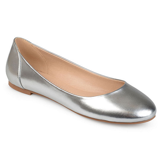 Journee Collection Womens Kavn Ballet Flats Round Toe