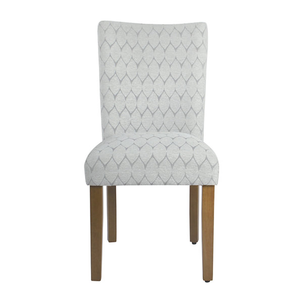 HomePop Textured Parsons chair