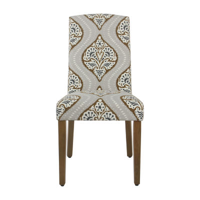 HomePop Curved-back Parsons Chair