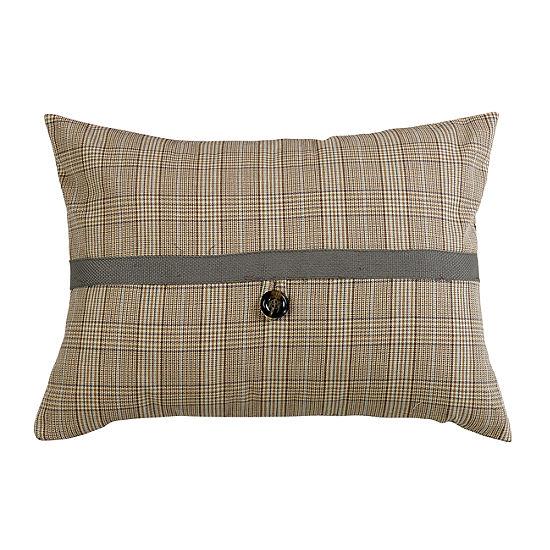 HiEnd Accents Plaid Pillow