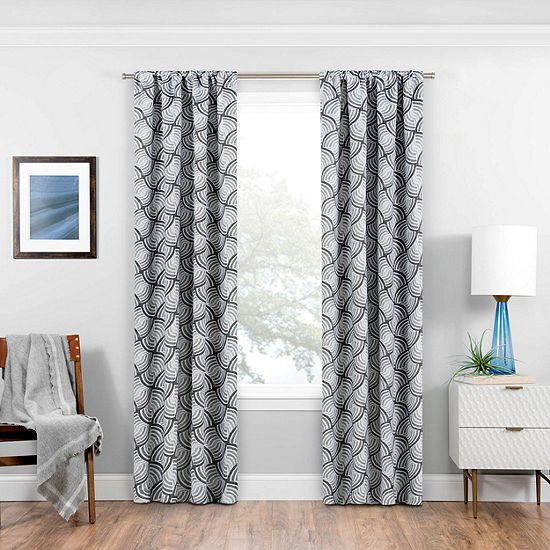 Eclipse Benchley Energy Saving Blackout Rod-Pocket Curtain Panel