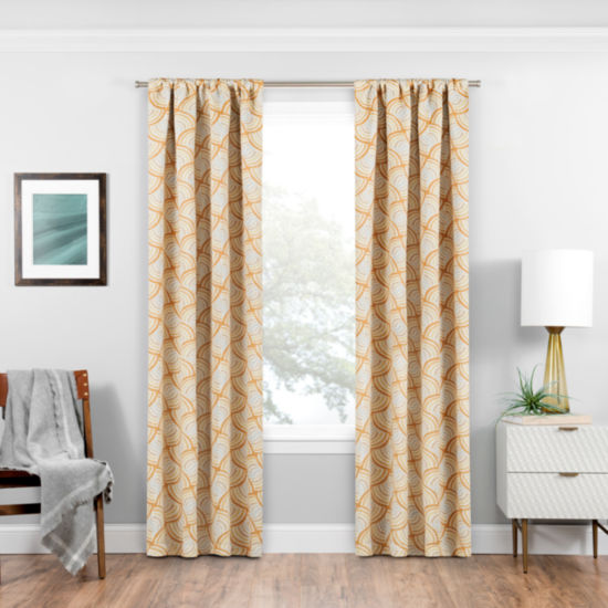 Eclipse® Benchley Blackout Rod-Pocket Curtain Panel