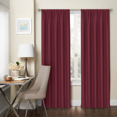Eclipse Wallace 2-Pack Rod-Pocket Curtain Panel