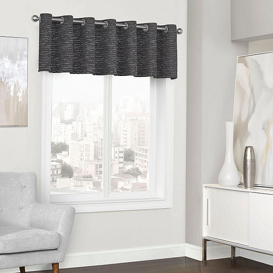 Eclipse Randall Grommet-Top Scallop Valance