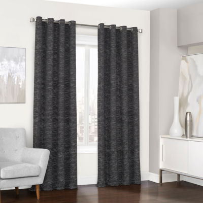Eclipse Randall Blackout Grommet-Top Curtain Panel