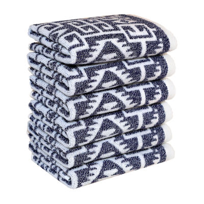 Linum Home Textiles Kula 6-pc. Washcloth Set